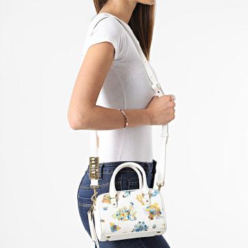 Versace Jeans Couture - Sac A Main Femme Linea M E1VWABM5 Blanc Renaissance