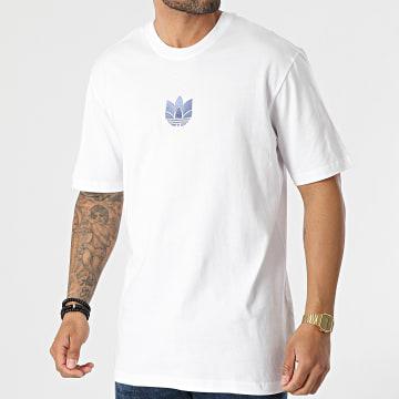 Adidas Originals - Tee Shirt 3D Trefoil GN3547 Blanc