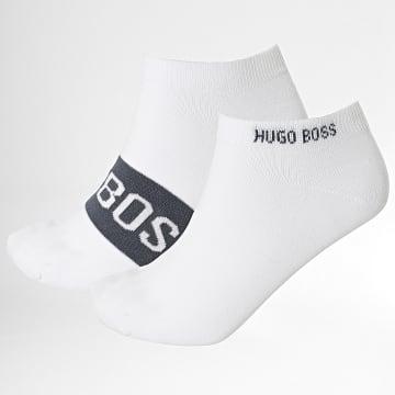BOSS - Lot De 2 Paires De Socquettes 50428744 Blanc