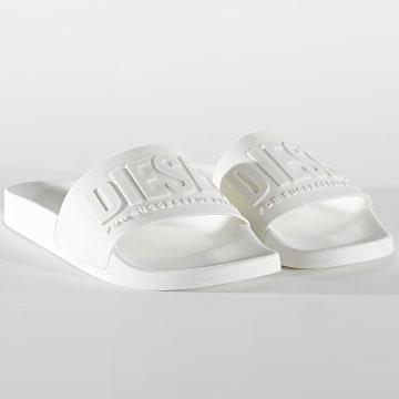Diesel - Claquettes Y02499-P3859 Star White
