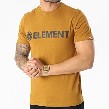 Element - Tee Shirt Blazin Camel
