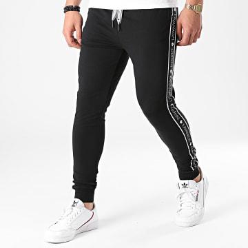 Gianni Kavanagh - Pantalon Jogging A Bandes ID GKM001575 Noir