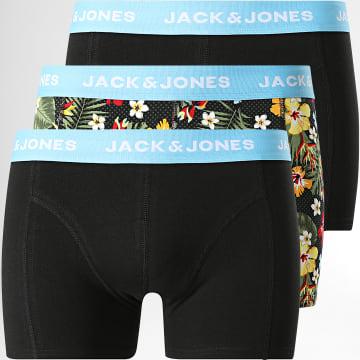 Jack And Jones - Lot De 3 Boxers Kaly 12196591 Noir