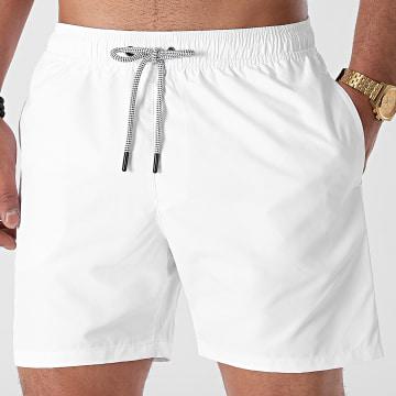 LBO - Short De Bain Uni 0013 Blanc