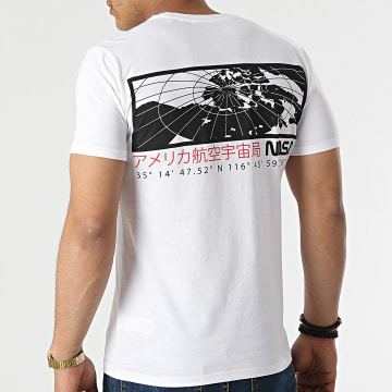 NASA - Tee Shirt Exploring Back Blanc