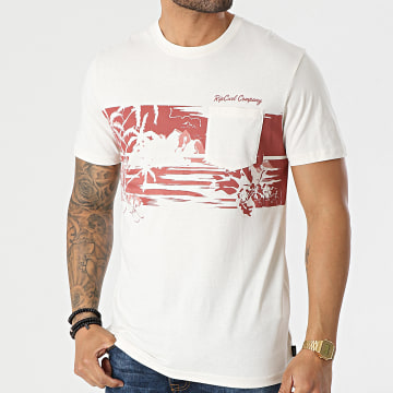 Rip Curl - Tee Shirt Poche Busy Session Ecru