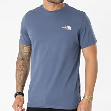 The North Face - Tee Shirt Simple Dome A2TX5WC41 Bleu Gris