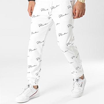 Uniplay - Pantalon Jogging UPP51 Blanc