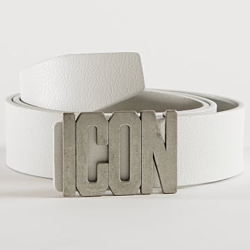 Uniplay - Ceinture Icon 01 Blanc Acier