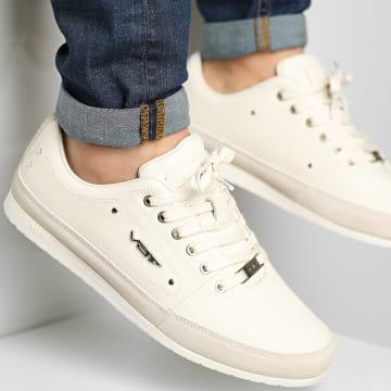 Vo7 - Baskets Yacht Cuir White Blanc