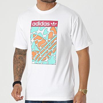 Adidas Originals - Tee Shirt Summer Tongue GN3900 Ecru