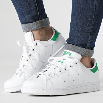 Adidas Originals - Baskets Femme Stan Smith FX7519 Cloud White Green