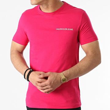 Calvin Klein - Tee Shirt Institutional Chest 5245 Fushia