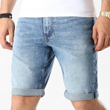 Calvin Klein - Short Jean Slim 7739 Bleu Denim