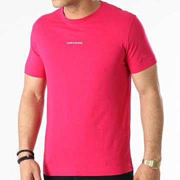 Calvin Klein - Tee Shirt Micro Branding 8067 Fushia