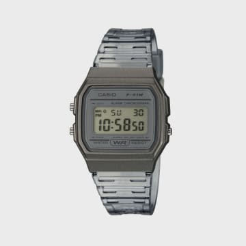 Casio - Montre Collection F-91WS-8EF Noir Gris