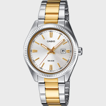 Casio - Montre Femme Collection LTP-1302PSG-7AVEF Or Acier