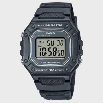Casio - Montre Collection W-218H-8AVEF Noir