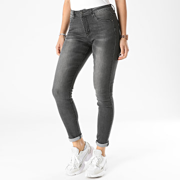 Girls Only - Jean Skinny Femme A1003 Gris Anthracite