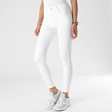 Girls Only - Jean Skinny Femme G2160 Blanc