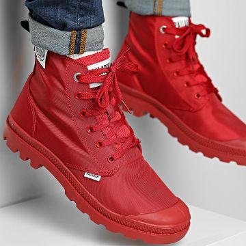 Palladium - Boots Pampa Hi Mono Chrome III 77077 Red Salsa