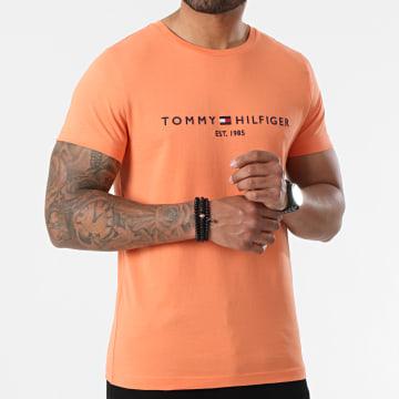 Tommy Hilfiger - Tee Shirt Tommy Logo 1797 Orange