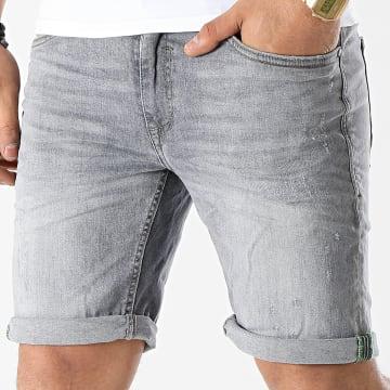 Blend - Short Jean 20711946 Gris