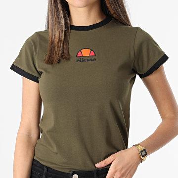 Ellesse - Tee Shirt Femme Orlanda SGI07380 Vert Kaki