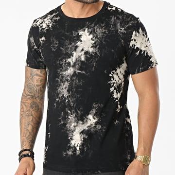 Frilivin - Tee Shirt BM1279 Noir Ecru