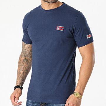 Geographical Norway - Tee Shirt Jaltimore Bleu Marine