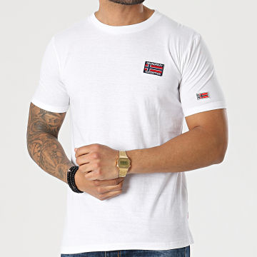 Geographical Norway - Tee Shirt Jaltimore Blanc