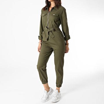 Girls Outfit - Combinaison Femme K21306 Vert Kaki