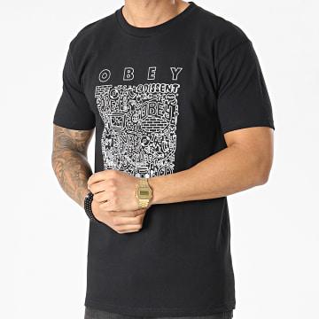 Obey - Tee Shirt Creative Dissent Noir