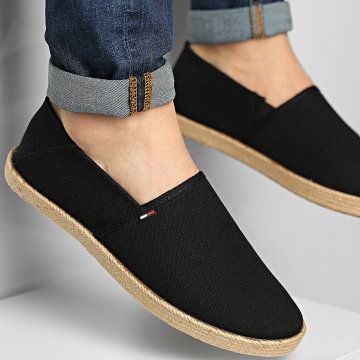 Tommy Jeans - Espadrilles Essential 0677 Black