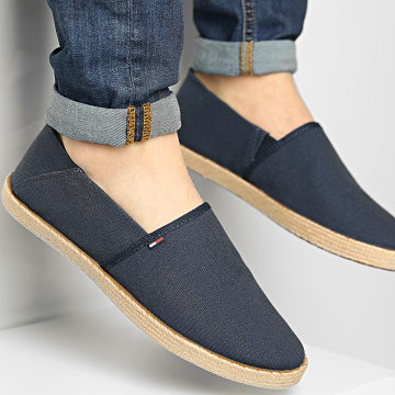 Tommy Jeans - Espadrilles Essential 0677 Twilight Navy