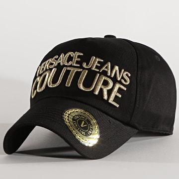 Versace Jeans Couture - Casquette E8YWAK10 Noir Doré