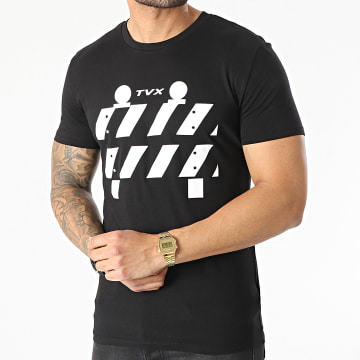 13 Block - Tee Shirt TVX Noir Blanc