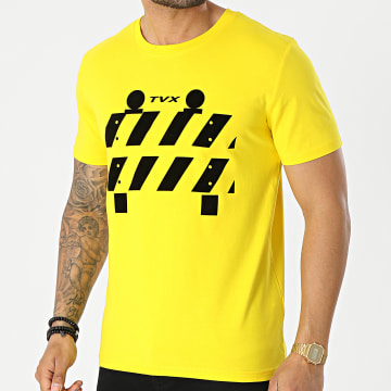13 Block - Tee Shirt TVX Jaune Noir