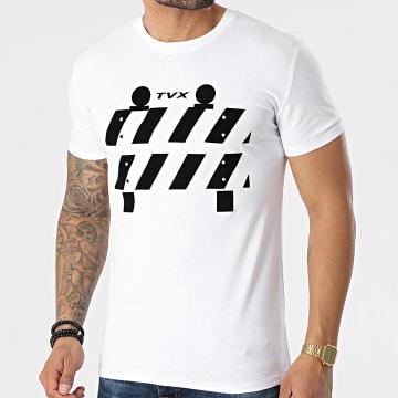 13 Block - Tee Shirt TVX Blanc Noir