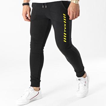 13 Block - Pantalon Jogging TVX Noir Jaune