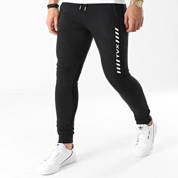 13 Block - Pantalon Jogging TVX Noir Blanc
