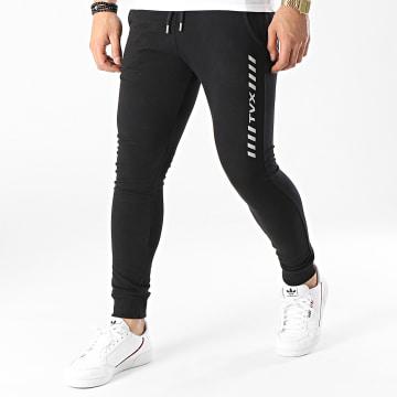 13 Block - Pantalon Jogging TVX Noir Réfléchissant