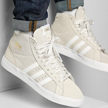 Adidas Originals - Baskets Profi FY7724 Crystal White Cloud White Gold Metallic
