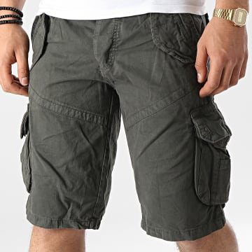 Geographical Norway - Short Cargo Pouvoir Gris Anthracite