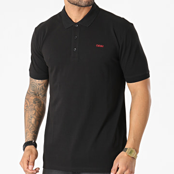 HUGO - Polo Manches Courtes Donos 50447936 Noir