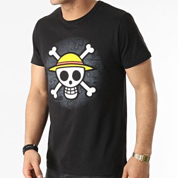 One Piece - Tee Shirt ABYTEX040 Noir