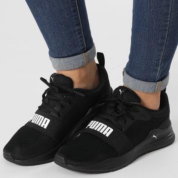 Puma - Baskets Femme Wired Run 374214 Puma Black Puma White