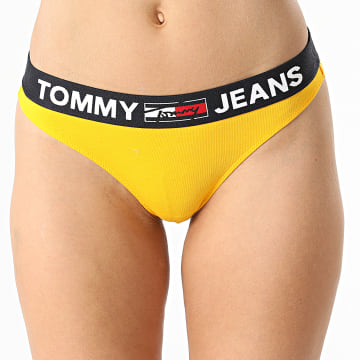 Tommy Jeans - String Femme 2823 Jaune