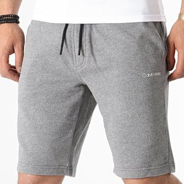 Calvin Klein - Short Jogging Small Logo 7142 Gris Chiné