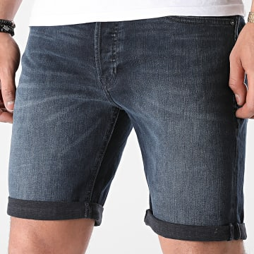 Jack And Jones - Short Jean Rick Original Bleu Brut